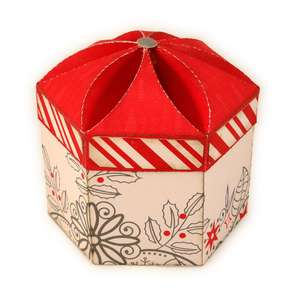 box small 3d petals lid