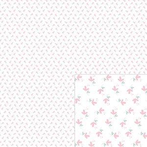 flowers pink digital paper