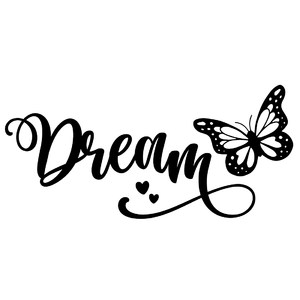 dream butterfly word