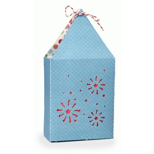 fireworks triangle gift bag