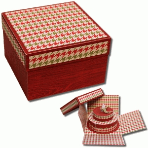 3d double tier birthday cake tealight box