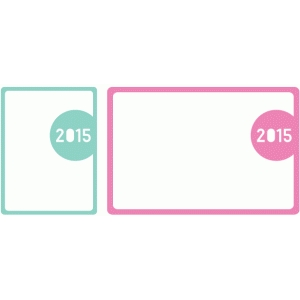 2015 journaling card set