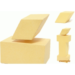 square acute accent block '