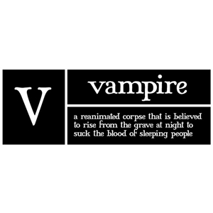 v is for vampire pc