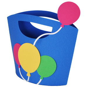 balloons gift tote