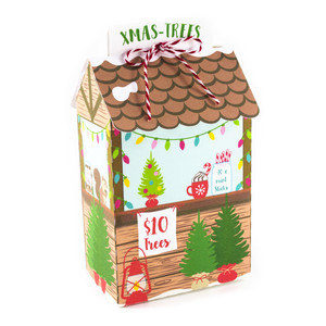 christmas tree stall box