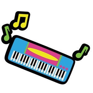 k pop - keyboard