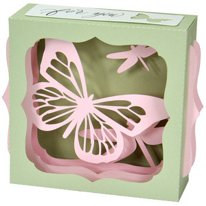 butterfly dragonfly gift card box