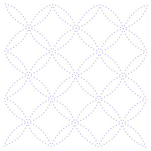 geometric background stitching pattern