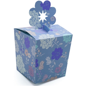 3d box flower top
