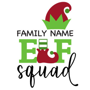 family elf squad phrase