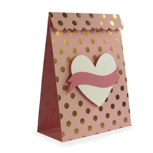heart banner treat bag