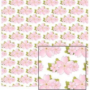 pink flowered pattern