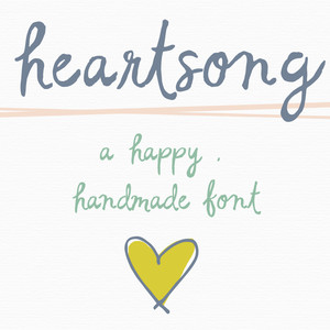 heartsong font by angie makes