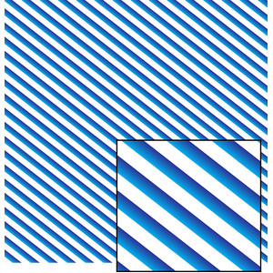 blue and white striped pattern