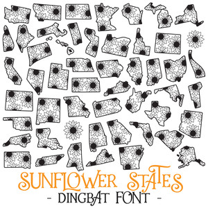 sunflower states font