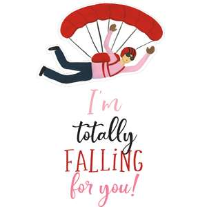 i'm totally falling for you!