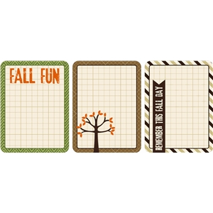 3 print & cut fall 3x4 cards