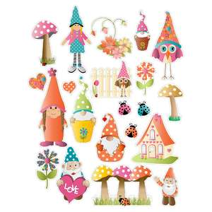 gnomes planner stickers