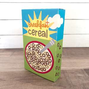 breakfast cereal play food
