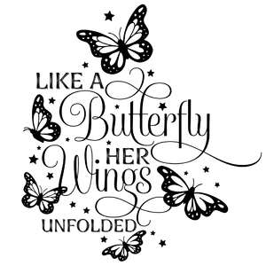 like a butterfly her wings unfolded quote