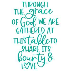 through the grace of god