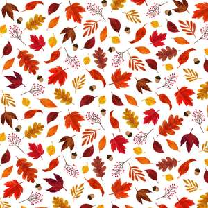 autumn leaves printable background