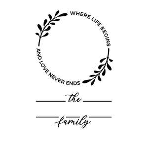family name template