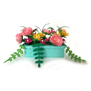 miniature flower box