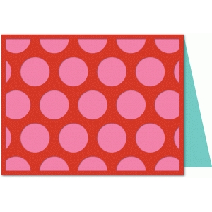 a2 lori whitlock dot pattern card