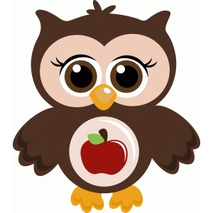 cute school owl