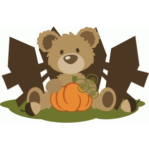 ppbn bear in pumpkin patch