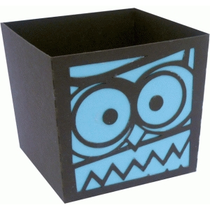 owl candy box