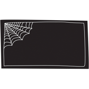 spider web label