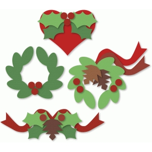 christmas basic shapes