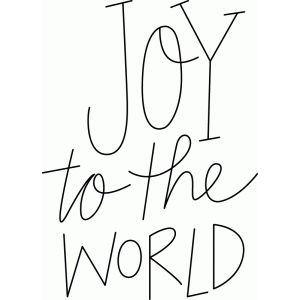 joy to the world sketch phrase