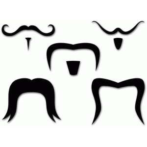 five mustaches