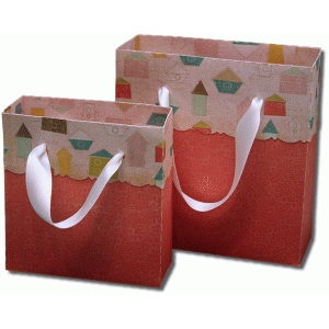 3d decorative scallop fold over gift bags