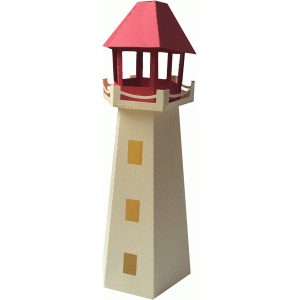 lighthouse favor box