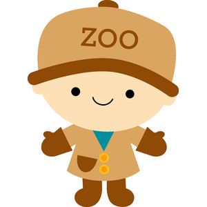 zoo keeper- at the zoo