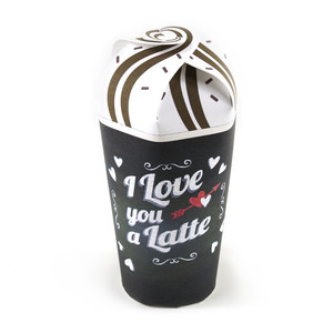 i love you a latte treat cup
