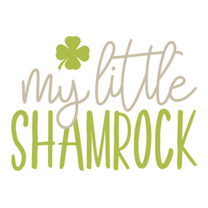 my little shamrock