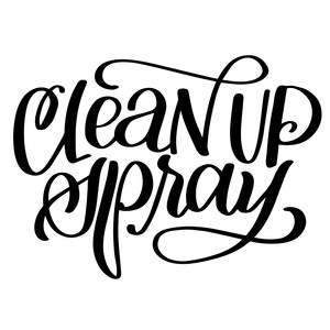 clean up spray