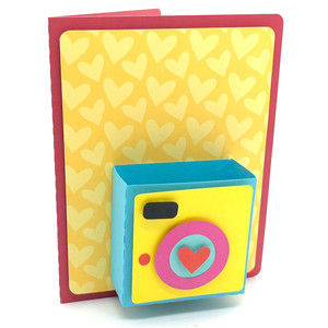 3d photographic camera card