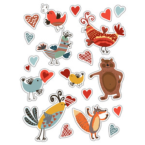ml lovely stickers
