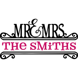 mr. & mrs. split title
