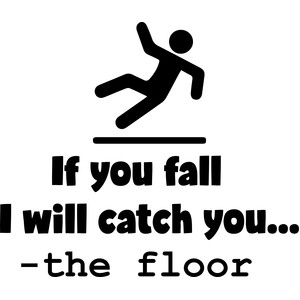 if you fall i will catch you