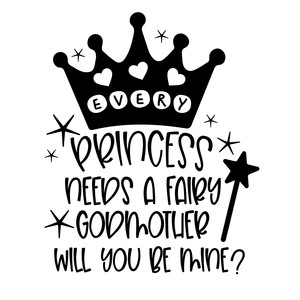 every princess needs a fairy godmother