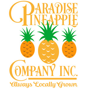 paradise pineapple company sign