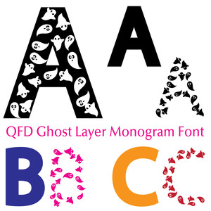 qfd ghost layer monogram font